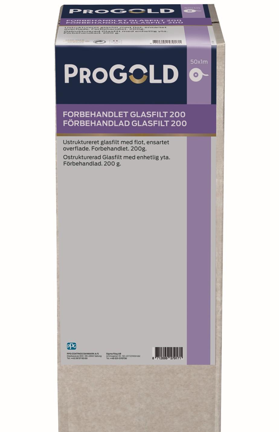 ProGold Grundet Glasfilt 200 gr.