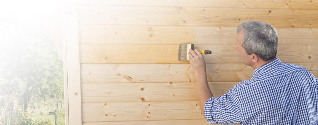 wie streicht man ein gartenhaus im außenbereich richtig? - bondex, Moderne