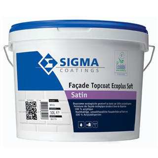 Sigma Façade Topcoat Ecoplus Soft Satin