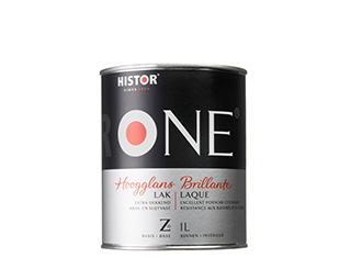ONE by Histor Acryl Lak Hoogglans