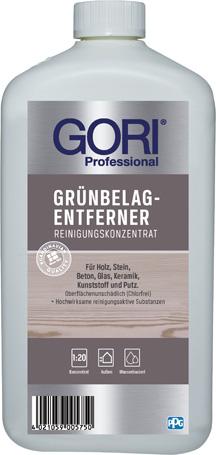 GORI GRÜNBELAG-ENTFERNER