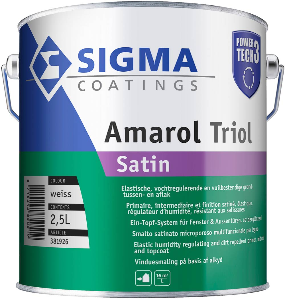 Sigma Amarol Triol Satin Power Tech 3