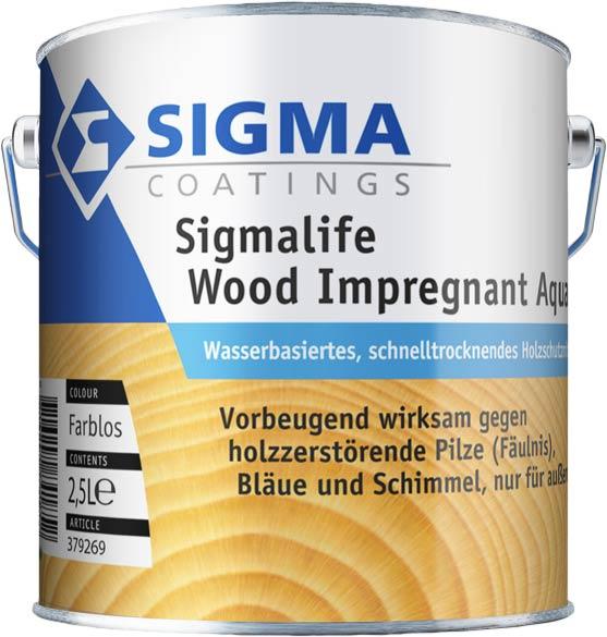Sigmalife Wood Impregnant Aqua