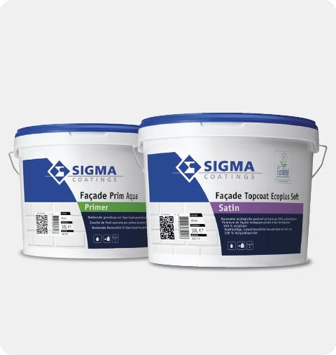Voordelen van Sigma Façade Prim Aqua
