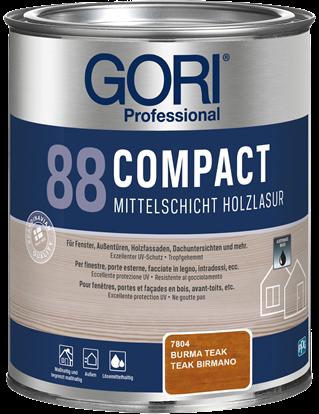 GORI 88 COMPACT - Mittelschicht Holzlasur