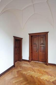 Villa Bonn Eichenholztür