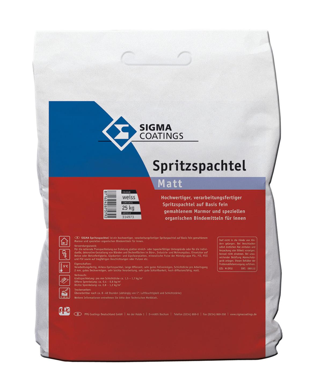 SIGMA Spritzspachtel