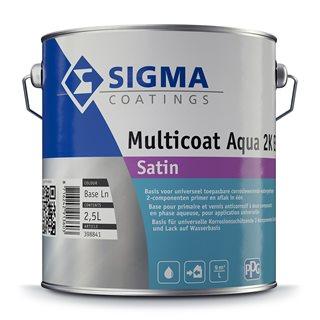 Sigma Multicoat Aqua 2K EP Satin