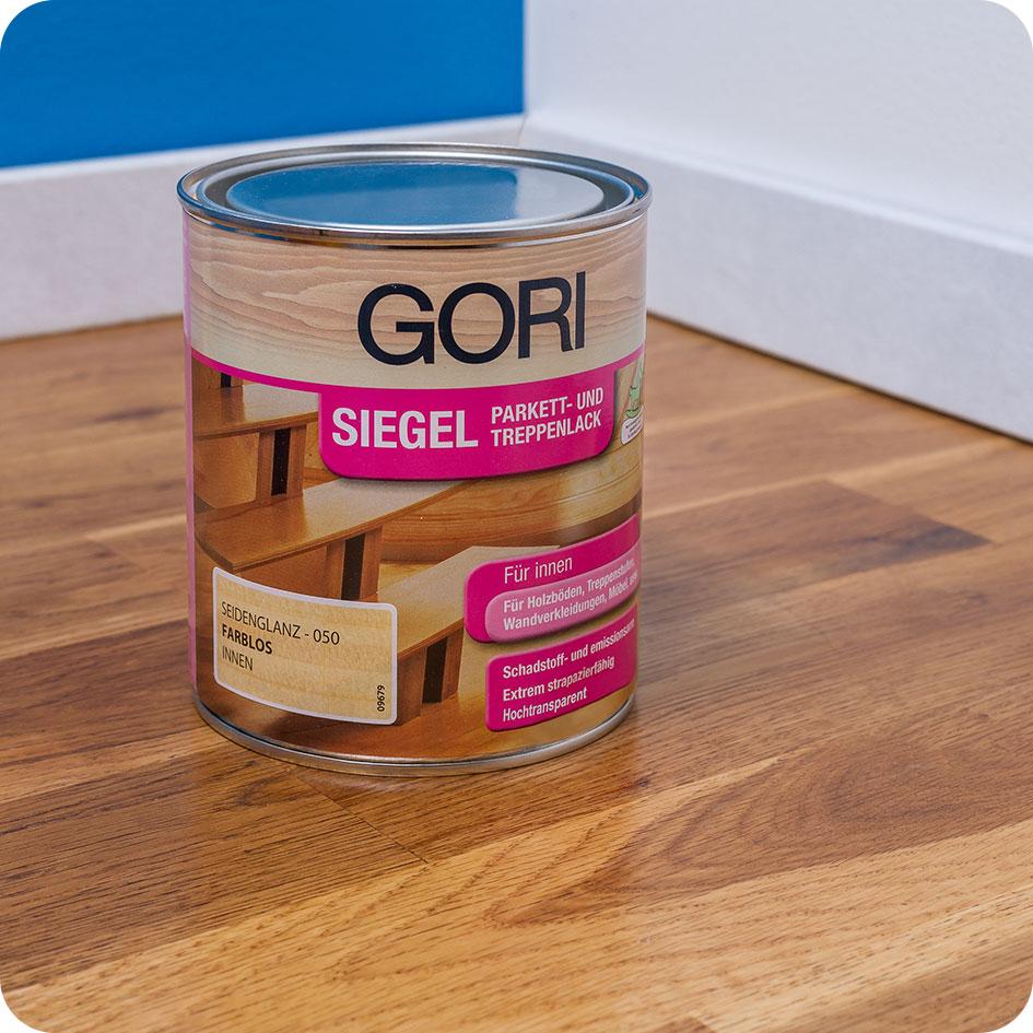 GORI Siegel Anwendungs-Beispiel - Gori