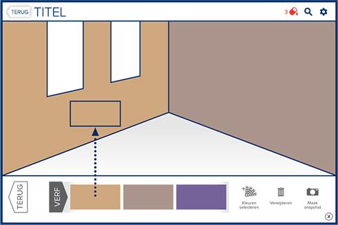 Slaapkamer ral kleuren interieur meubilair idee n for Auto interieur verven