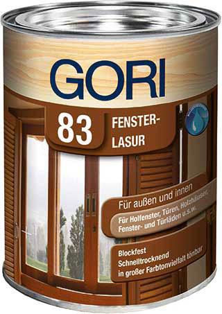 GORI 83 FENSTER- UND INNEN-LASUR