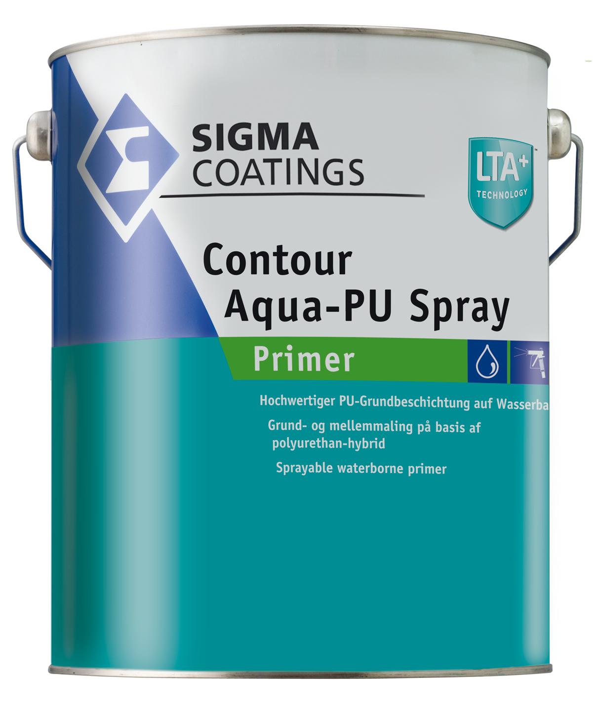 Contour Aqua-PU Spray Primer