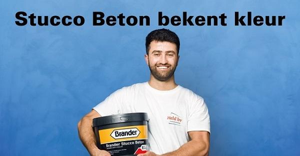 Brander Stucco Beton, nu ook in kleur!