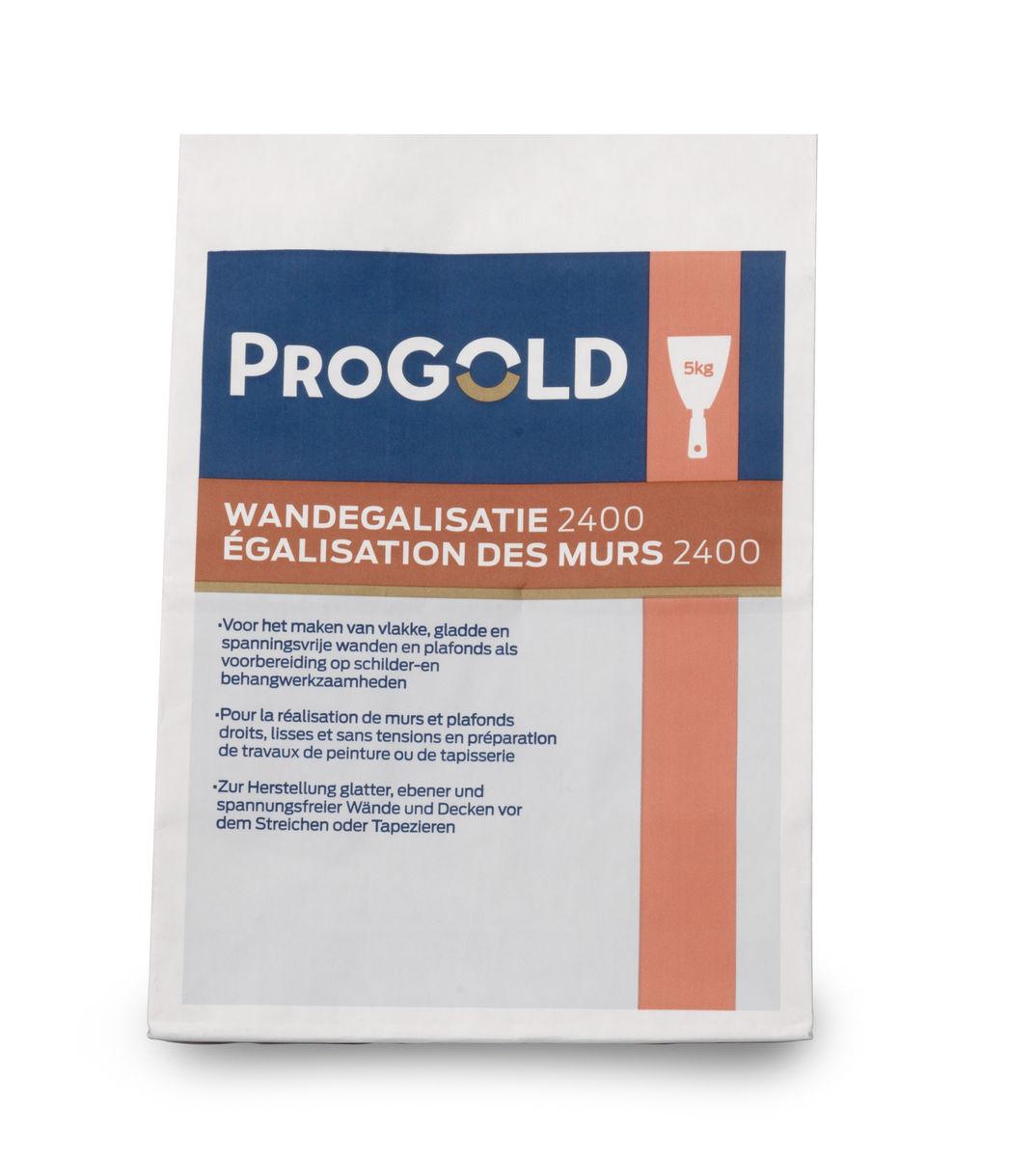 ProGold 2400 Egalisation des murs