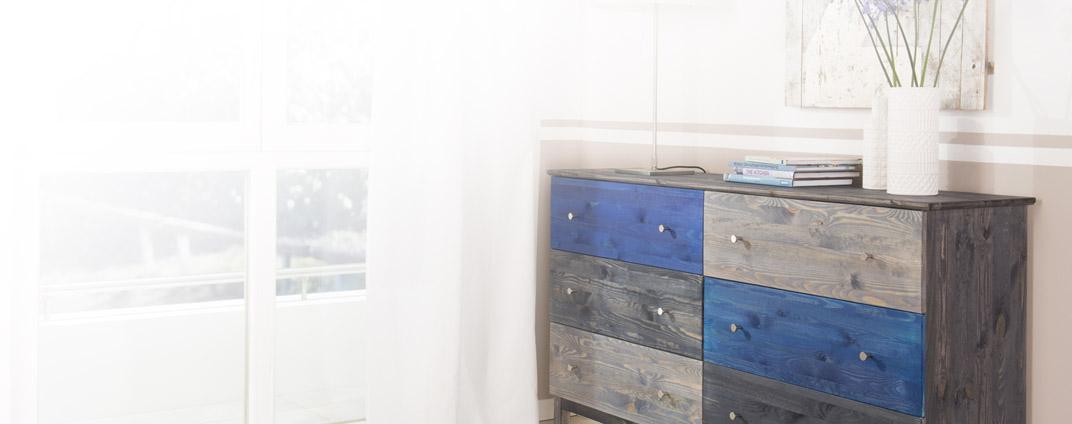 wie gestaltet man individuelle m bel selbst bondex. Black Bedroom Furniture Sets. Home Design Ideas