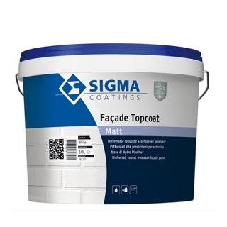 """Sigma Façade Topcoat Matt <br><FONT size=""""4"""">voorheen Sigma Façade Topcoat HP Matt</FONT>"""