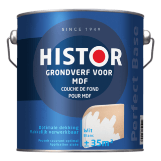 Histor Perfect Base Grondverf voor MDF