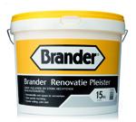 Brander Renovatie Pleister