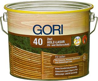 GORI 40 2in1 Holz-Lasur