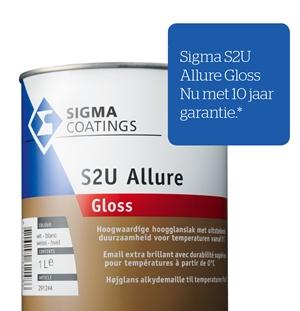 Sigma S2U Allure Gloss. Nu met 10 jaar garantie.