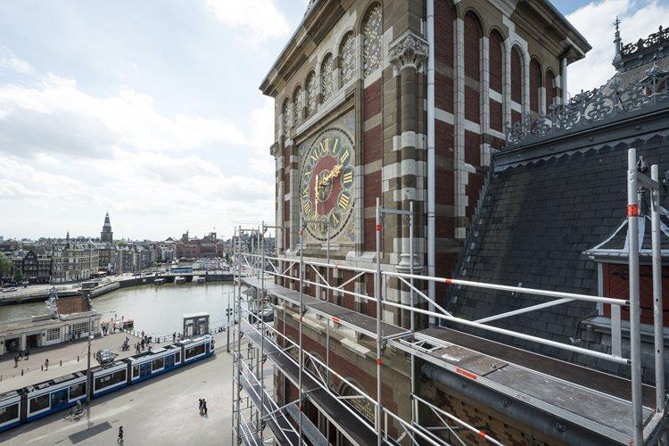Dagelijks maken rond de 200.000 reizigers gebruik van CS Amsterdam.