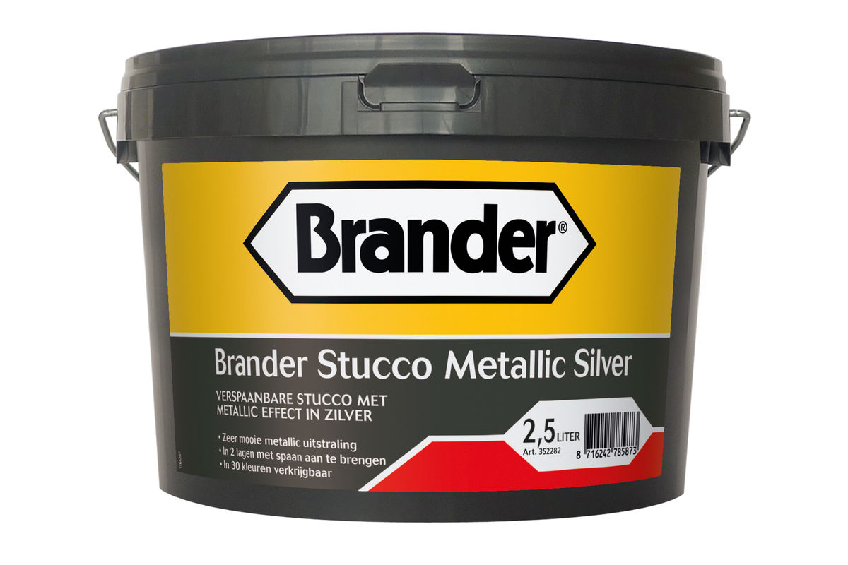 Brander Stucco Metallic