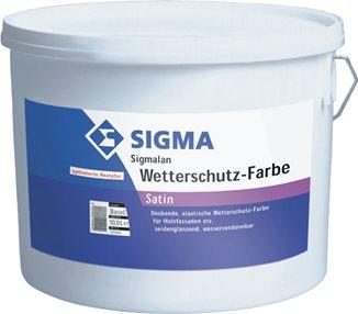 Sigmalan Wetterschutz-Farbe Satin