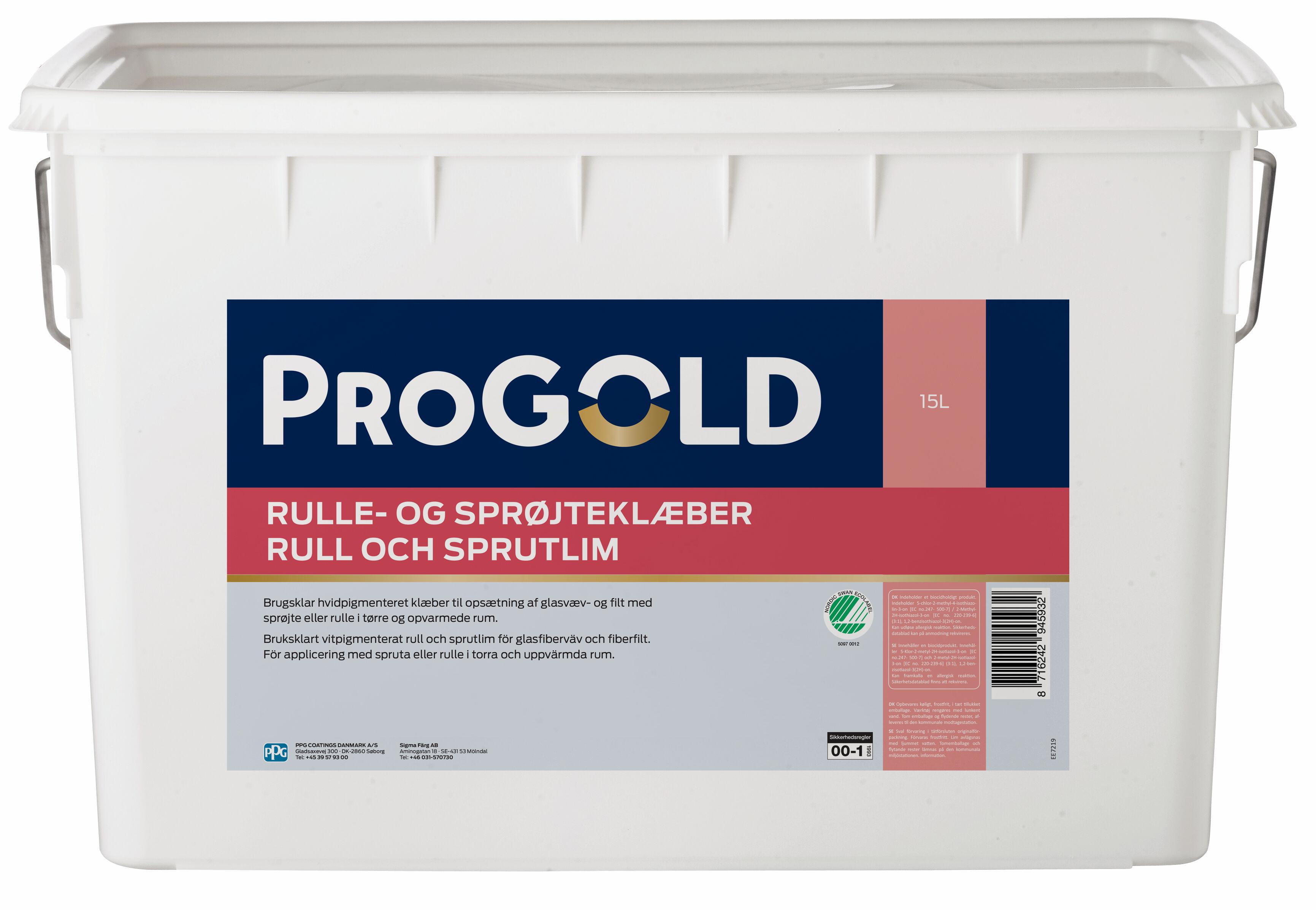 ProGold Rulle og Sprøjteklæber