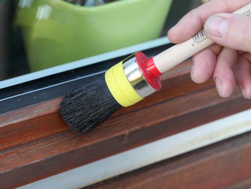 Lasur überstreichen wie streicht holzfenster richtig bondex
