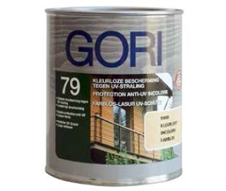 GORI 79 Kleurloze bescherming tegen UV-straling