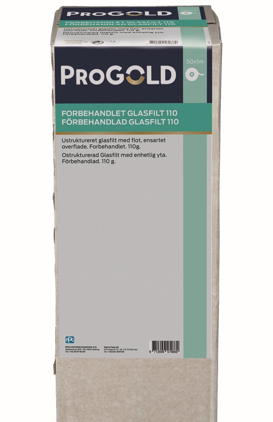 ProGold Grundet Glasfilt 110 gr.