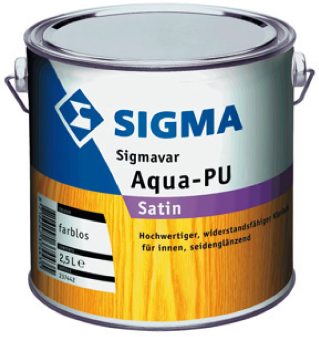 SIGMAVAR AquaPU satin und gloss