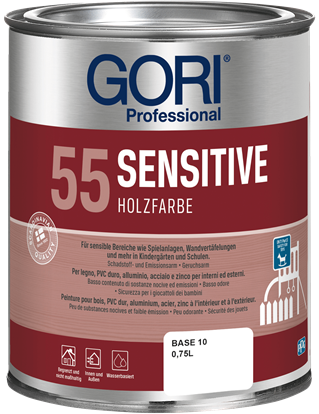 GORI 55 SENSITIV HOLZFARBE