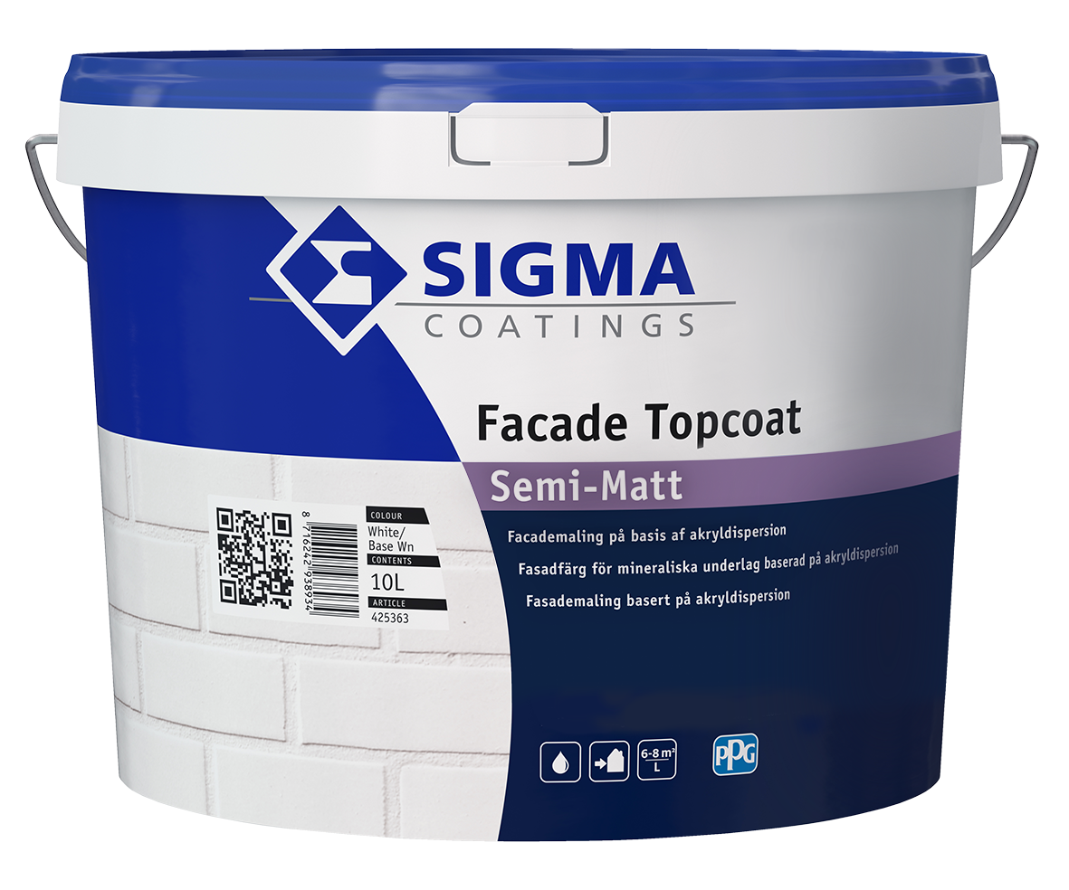 Facade Topcoat Semi Matt