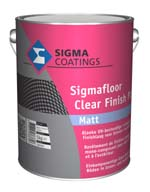 Sigmafloor Clear Finish PU Matt