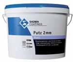 Sigma Putz 2 mm Matt