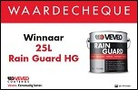 Prijswinnaars Veveo Rain Guard HG!