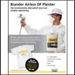 Brander introduceert Brander Airless DF Pleister