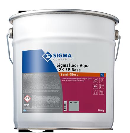 Sigmafloor Aqua 2K EP Semi-Gloss