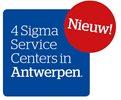 Nieuw! 4 Sigma Service Centers in Antwerpen.