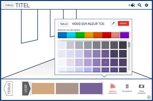 Kies je histor verfkleur kleurinspiratie for Kleuren verf kiezen