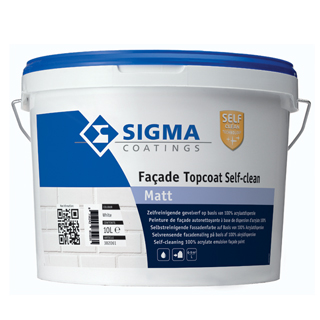 Sigma Façade Topcoat Self-clean Matt