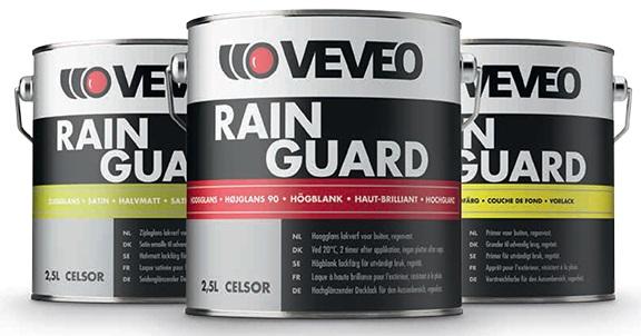 Nieuw! Veveo Celsor Rain Guard Systeem!