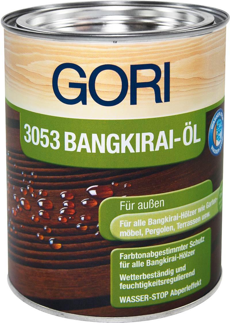 GORI 3053 Holz-Öl Bangkirai