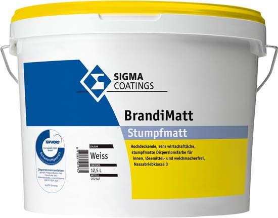 """""""Sigma BrandiMatt"""" schadstoffgeprüft gemäß TÜV"""