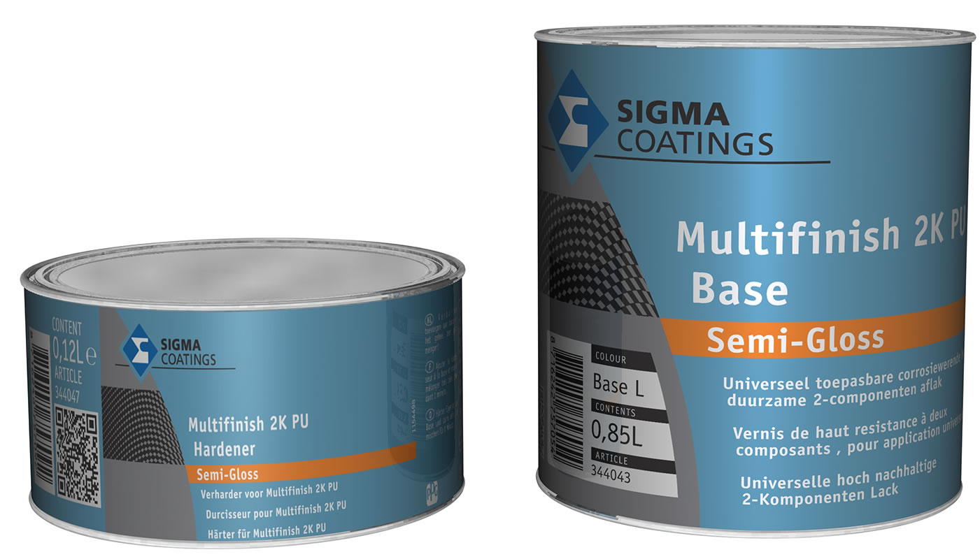SIGMA Multifinish SemiGloss 2K PU