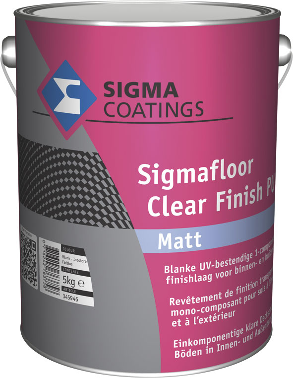 Sigmafloor Clear Finish PU Mat