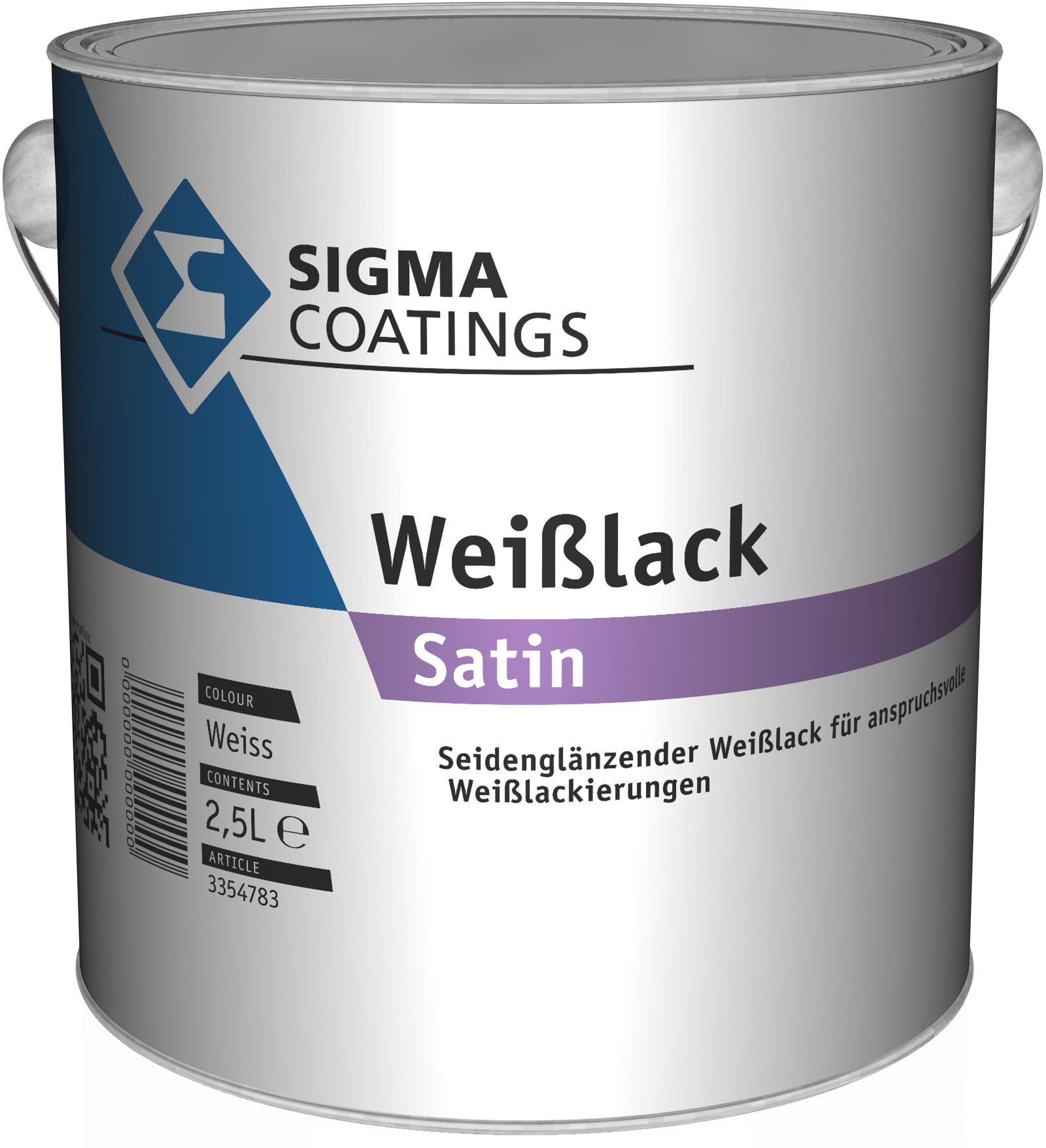 SIGMA Weißlack Satin