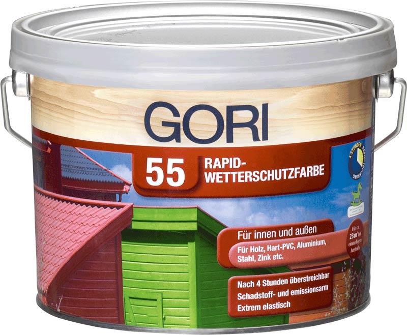 Hervorragend GORI 55 Rapid-Wetterschutzfarbe - Gori UC59