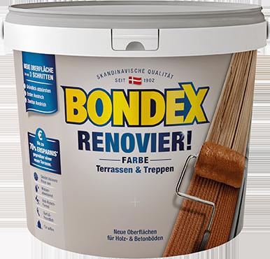 Terrassen Farbe bondex renovier farbe der ultimative retter für verschlissene